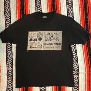 Vintage Orlando Magic Champion Mens T-Shirt